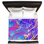 Blue Dream King Duvet