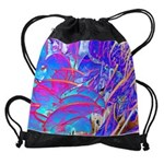 Blue Dream Drawstring Bag
