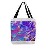 Blue Dream Polyester Tote Bag