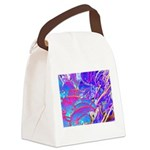 Blue Dream Canvas Lunch Bag