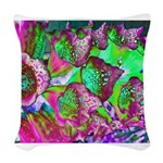 Color Dream Woven Throw Pillow