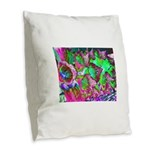 Color Dream Burlap Throw Pillow