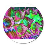 Color Dream Round Car Magnet