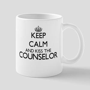Keep calm and kiss the Counselor Mugs