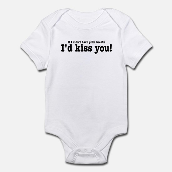 Puke Breath Infant Bodysuit