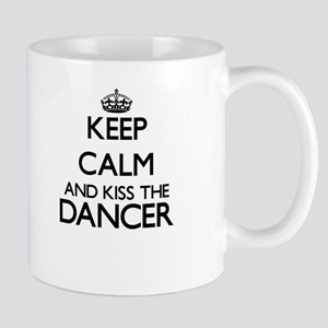 Keep calm and kiss the Dancer Mugs