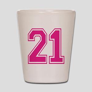 Varsity 21 Shot Glass