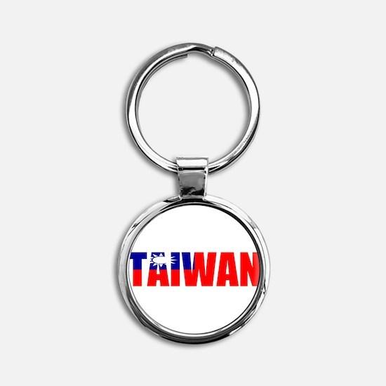Cute Taiwanese Round Keychain