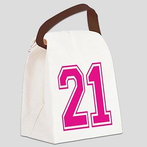 Varsity 21 Canvas Lunch Bag