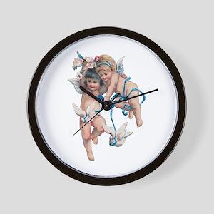 Angels of Peace Wall Clock