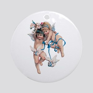 Angels of Peace Ornament (Round)
