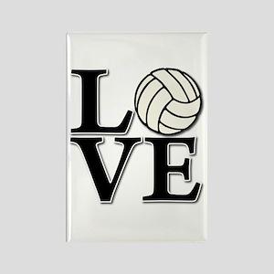 LOVE VB Rectangle Magnet