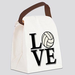 LOVE VB Canvas Lunch Bag
