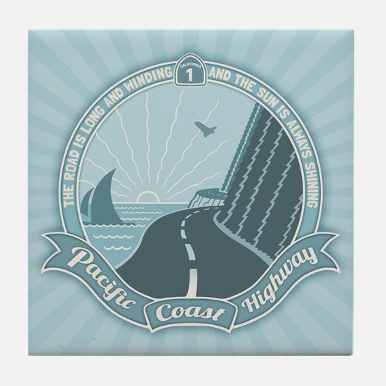 PCH Always Shining Tile Coaster