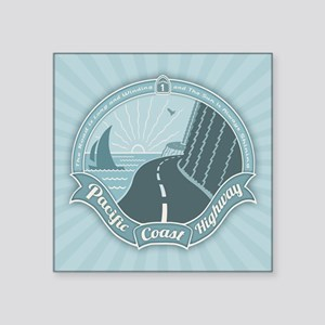 "PCH Always Shining Square Sticker 3"" x 3"""