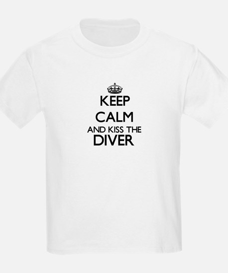 Keep calm and kiss the Diver T-Shirt