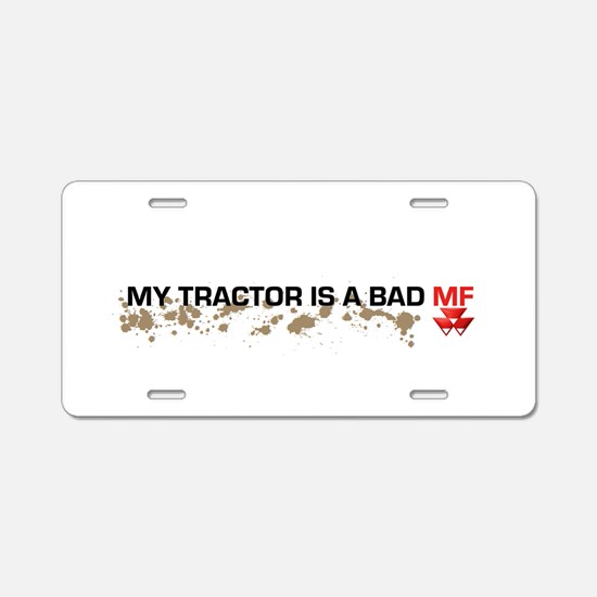 Massey Ferguson Bad Mf Aluminum License Plate