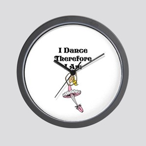 I Dance Therfore I Am Wall Clock