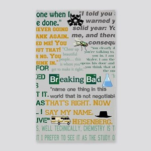 Walter White Quotes Area Rug