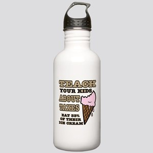 Teach Kids About Taxes Stainless Water Bottle 1.0L