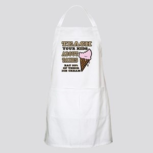 Teach Kids About Taxes Apron