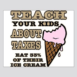 Teach Kids About Taxes Small Poster