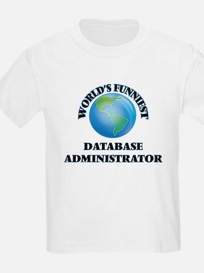 World's Funniest Database Administrator T-Shirt