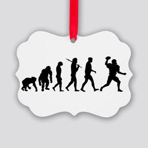Evolution of Football Picture Ornament