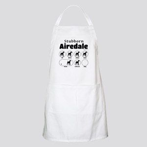 Stubborn Airedale v2 Apron