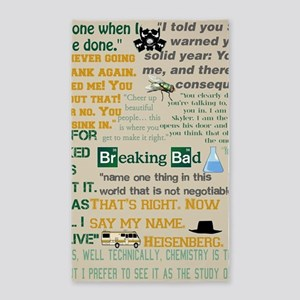 Walter Quotes - Breaking Bad Area Rug