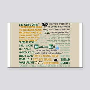 Walter Quotes - Breaking Bad Rectangle Car Magnet