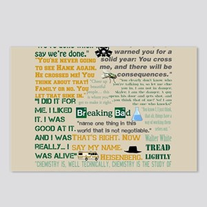 Walter Quotes - Breaking Postcards (Package of 8)