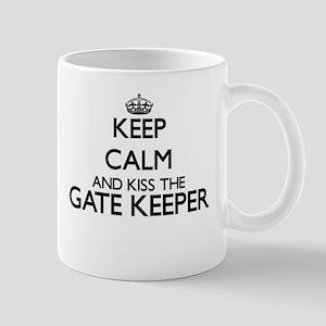 Keep calm and kiss the Gate Keeper Mugs