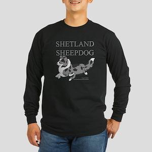Bi-Blue Sheltie Long Sleeve T-Shirt
