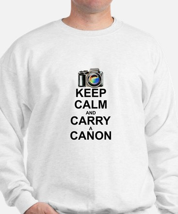 Carry a Canon Sweater