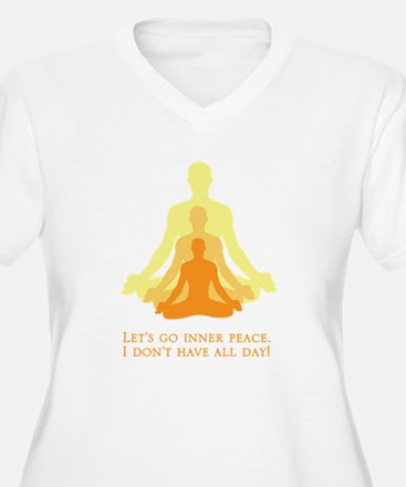 Let's Go Inner Peace, I Don't Have All Day! Plus S