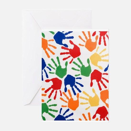 Kids Handprint Greeting Cards