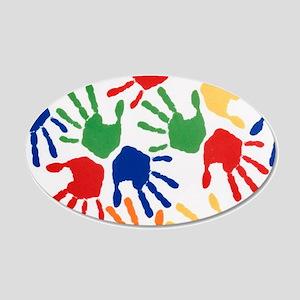 Kids Handprint Wall Decal