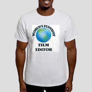 World's Funniest Film Editor T-Shirt