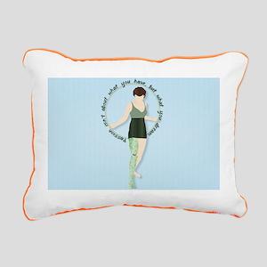 NYN Rectangular Canvas Pillow