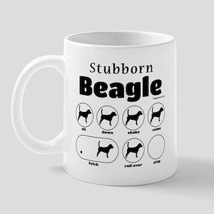 Stubborn Beagle v2 Mug