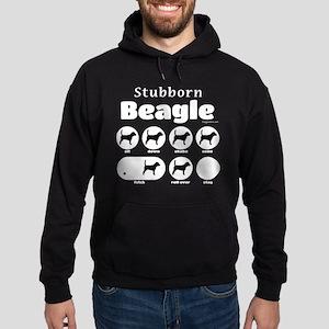 Stubborn Beagle V2 Hoodie (dark)