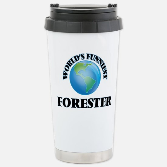 World's Funniest Forest Stainless Steel Travel Mug