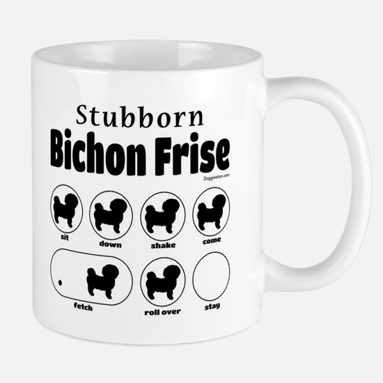 Stubborn Bichon v2 Mug