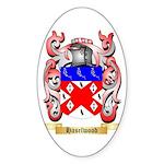 Haselwood Sticker (Oval 50 pk)