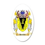 Haschke 35x21 Oval Wall Decal