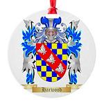 Harwood Round Ornament