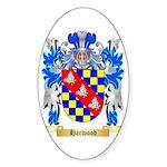 Harwood Sticker (Oval 50 pk)