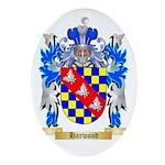 Harwood Ornament (Oval)