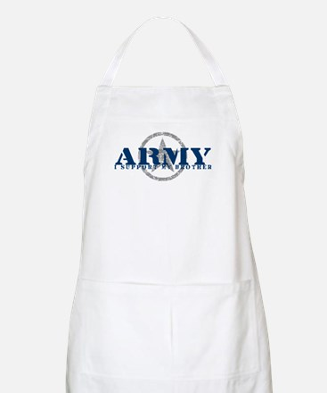 Army - I Support My Brother BBQ Apron
